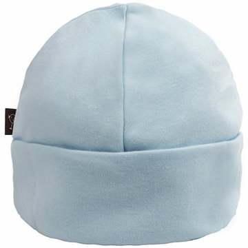 Kushies Cotton Baby Cap, 1-3m - Blue