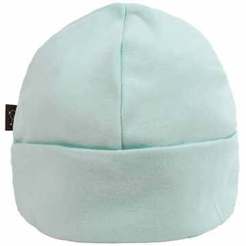 Kushies Cotton Baby Cap, 1-3m - Green