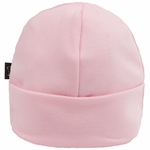 Kushies Cotton Baby Cap, 1-3m - Pink