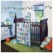 Lambs & Ivy Alpha Baby 4 Piece Crib Bedding Set