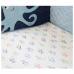 Lambs & Ivy Bubbles & Squirt Sheet