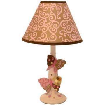 Lambs & Ivy Butterfly Dreams Lamp