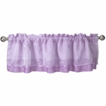 Lambs & Ivy Butterfly Lane Window Valance