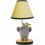 Lambs & Ivy Cornelius Lamp with Shade & Bulb