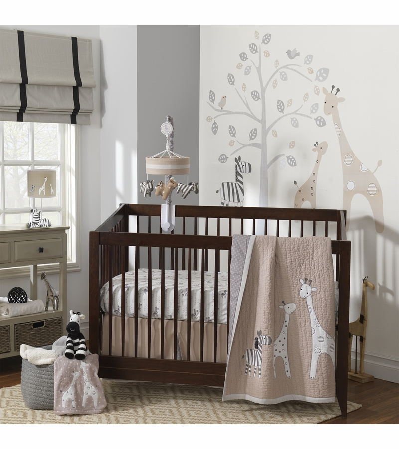 Lambs Ivy Butterfly Bloom  Piece Bedding Set