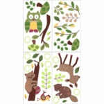 Lambs & Ivy Enchanted Forest Wall Appliques