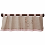 Lambs & Ivy Fawn Window Valance