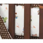 Lambs & Ivy Froggyville Fitted Crib Sheet