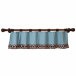 Lambs & Ivy Giggles Window Valance