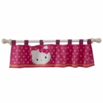 Lambs & Ivy Hello Kitty Garden Window Valance