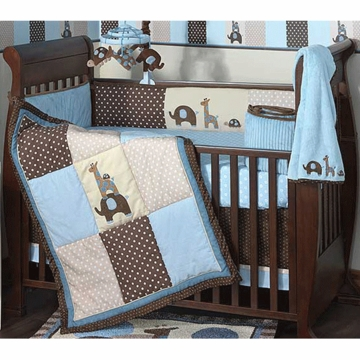 Lambs & Ivy Jake 4 Piece Crib Bedding Set