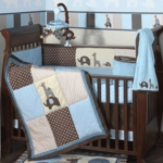 Lambs & Ivy Jake 5 Piece Baby Crib Bedding Set