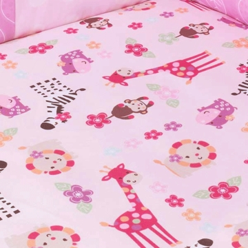 Lambs & Ivy Jelly Bean Jungle Crib Sheet