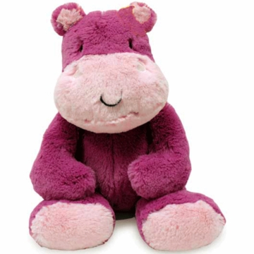 Lambs & Ivy Jelly Bean Jungle Plush Hippo - Harriett