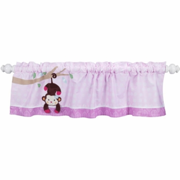 Lambs & Ivy Jelly Bean Jungle Window Valance