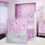 Lambs & Ivy Kaleidoscope 4 Piece Crib Bedding Set