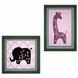 Lambs & Ivy Lavender Jungle Wall D�cor