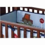 Lambs & Ivy Little Traveler Crib Bumper