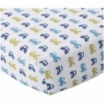 Lambs & Ivy Little Traveler Crib Sheet