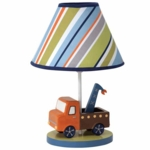 Lambs & Ivy Little Traveler Lamp with Shade & Bulb