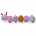 Lambs & Ivy Lulu Plush Catepillar