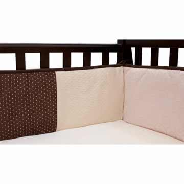 Lambs & Ivy Madison Avenue Crib Bumper