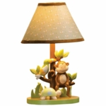 Lambs & Ivy Papagayo Lamp with Shade