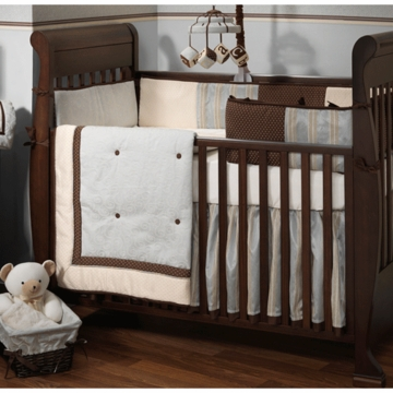 Lambs & Ivy Park Avenue 5 Piece Crib Bedding Set