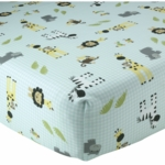 Lambs & Ivy Peek A Boo Jungle Crib Sheet