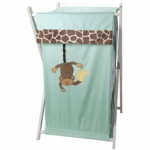 Lambs & Ivy Peek A Boo Jungle Hamper