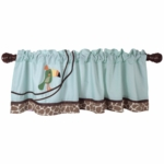 Lambs & Ivy Peek A Boo Jungle Window Valance