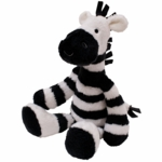 Lambs & Ivy Peek A Boo Jungle Zeke - Plush Zebra