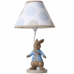 Lambs & Ivy Peter Rabbit� Lamp with Shade & Bulb