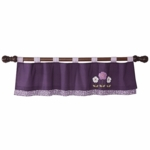 Lambs & Ivy Plumberry Valance