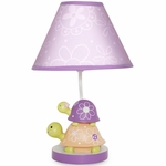 Lambs & Ivy Puddles Lamp with Shade & Bulb