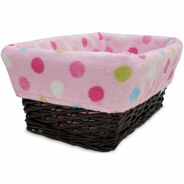 Lambs & Ivy Puppy Tales Basket Liner
