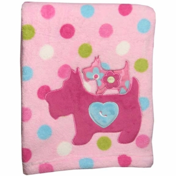 Lambs & Ivy Puppy Tales Blanket