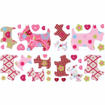 Lambs & Ivy Puppy Tales Wall Appliques