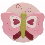 Lambs & Ivy Raspberry Swirl Night Light
