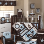 Lambs & Ivy Rock N' Roll 5 Piece Crib Bedding Set