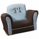 Lambs & Ivy Rock N' Roll Upholstered Rocking Chair