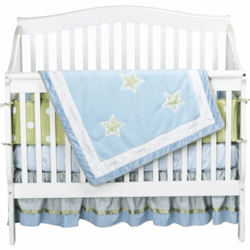 Lambs & Ivy Star Baby 4 Piece Crib Bedding Set