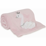 Lambs & Ivy Swan Lake Blanket