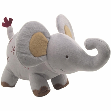 Lambs & Ivy Zoofari Plush Elephant