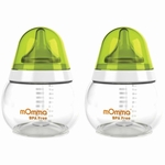 Lansinoh mOmma 8.4 Oz Feeding Bottles - 2 Pack