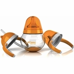 Lansinoh mOmma Developmental Drink Set - Orange