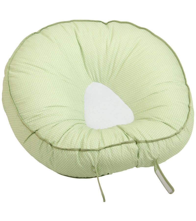 Leachco Podster Infant Lounger Green Pindot