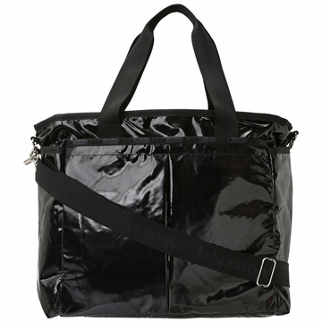 LeSportsac Ryan Baby Bag - Black Patent