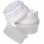 Lifefactory Solid White Caps 2 Pack