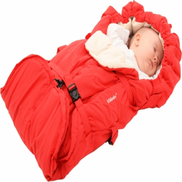 Lillebaby Eurotote Travel Campanion in Red Haute Momma